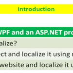 Lesson 12 - Localize WPF and ASP.NET using C# and XAML
