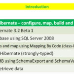 Lesson 13 - NHibernate Mapping by Code, SchemaExport and SchemaValidate