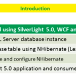 Lesson 14 - SilverLight 5.0 using NHibernate 3.2 and WCF