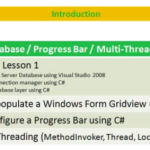 Lesson 2 - Multithreading / Progress Bar / Gridview